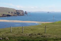 Traumhafte Küste bei Braewick Shetland